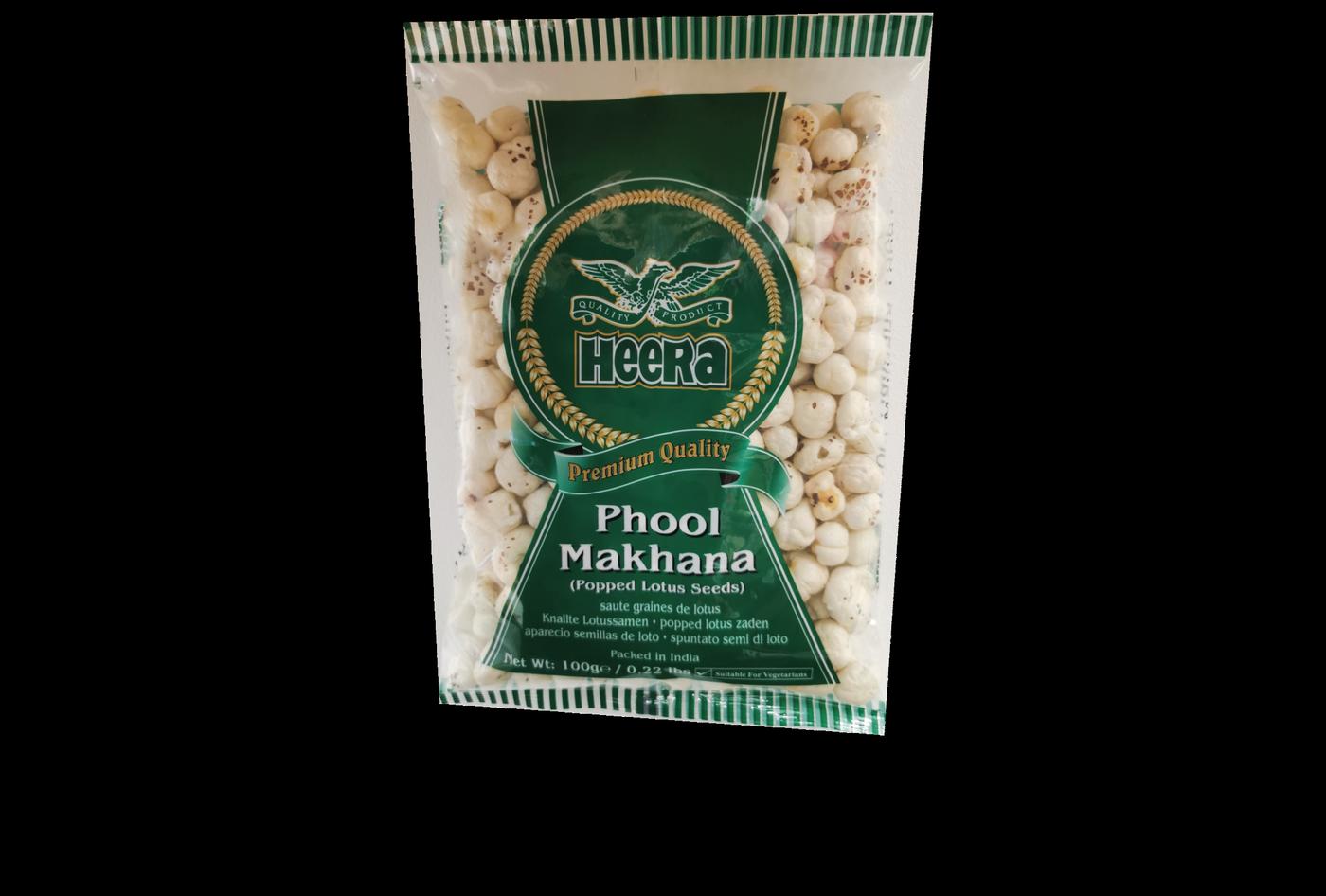 Heera Phool Makhana (Popped Lotus Seeds)