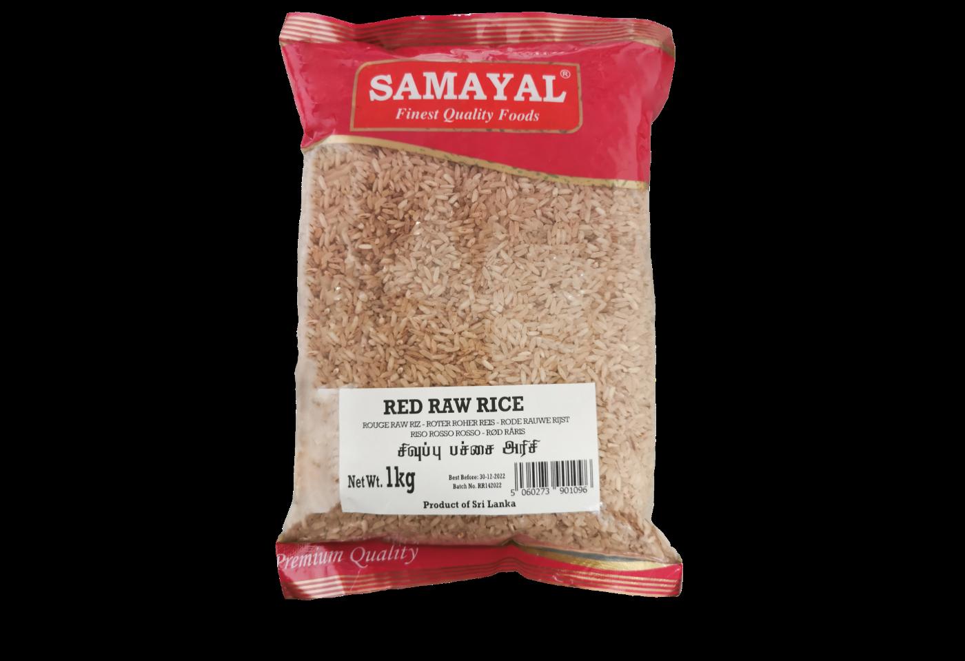 Samayal Red Raw Rice