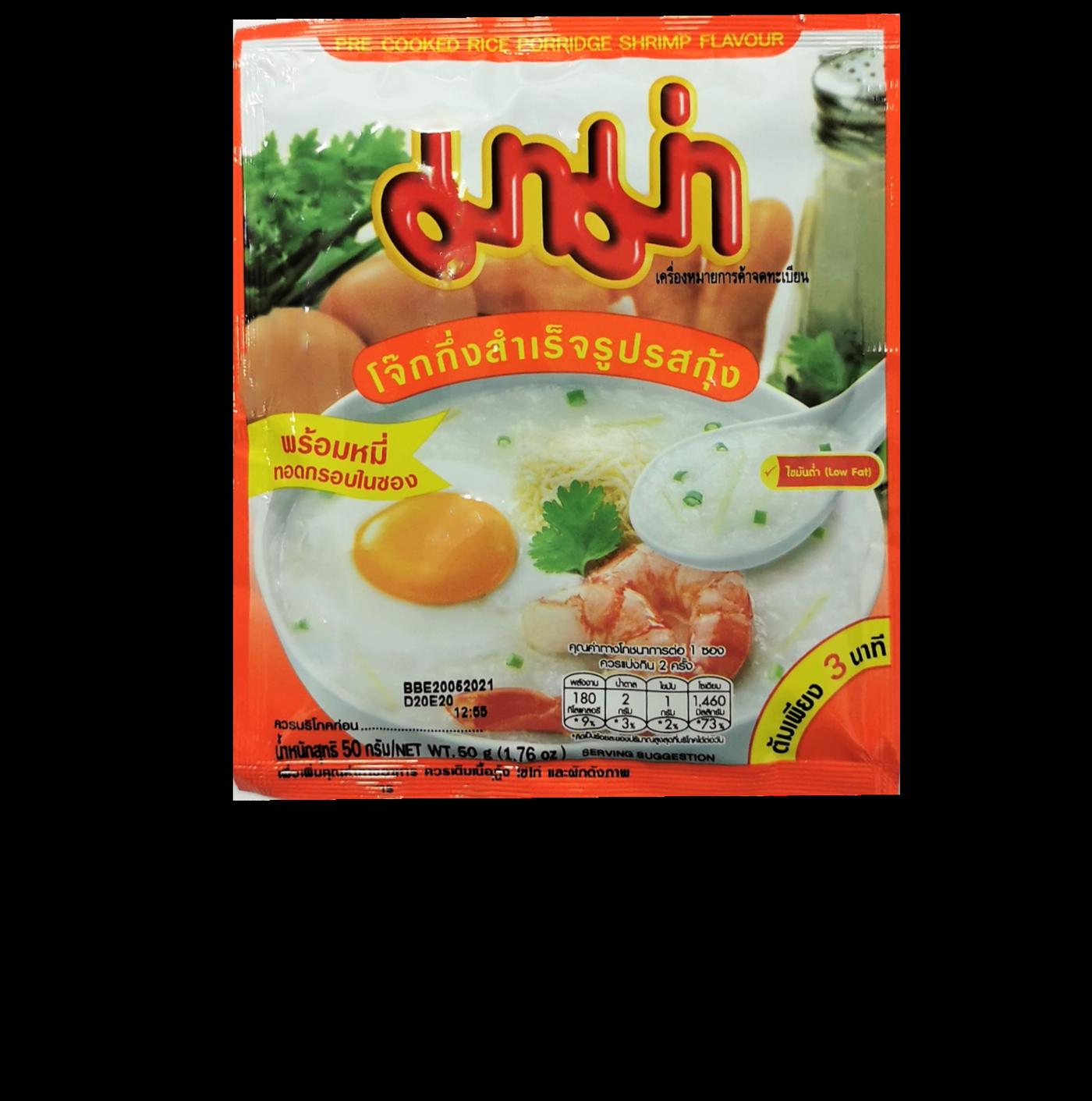 Mama Rice Porridge Shrimp Flavour