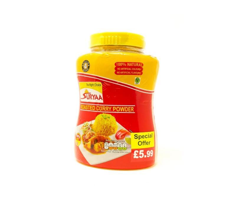 Suryaa Curry powder -Extra Hot- Jar 900g