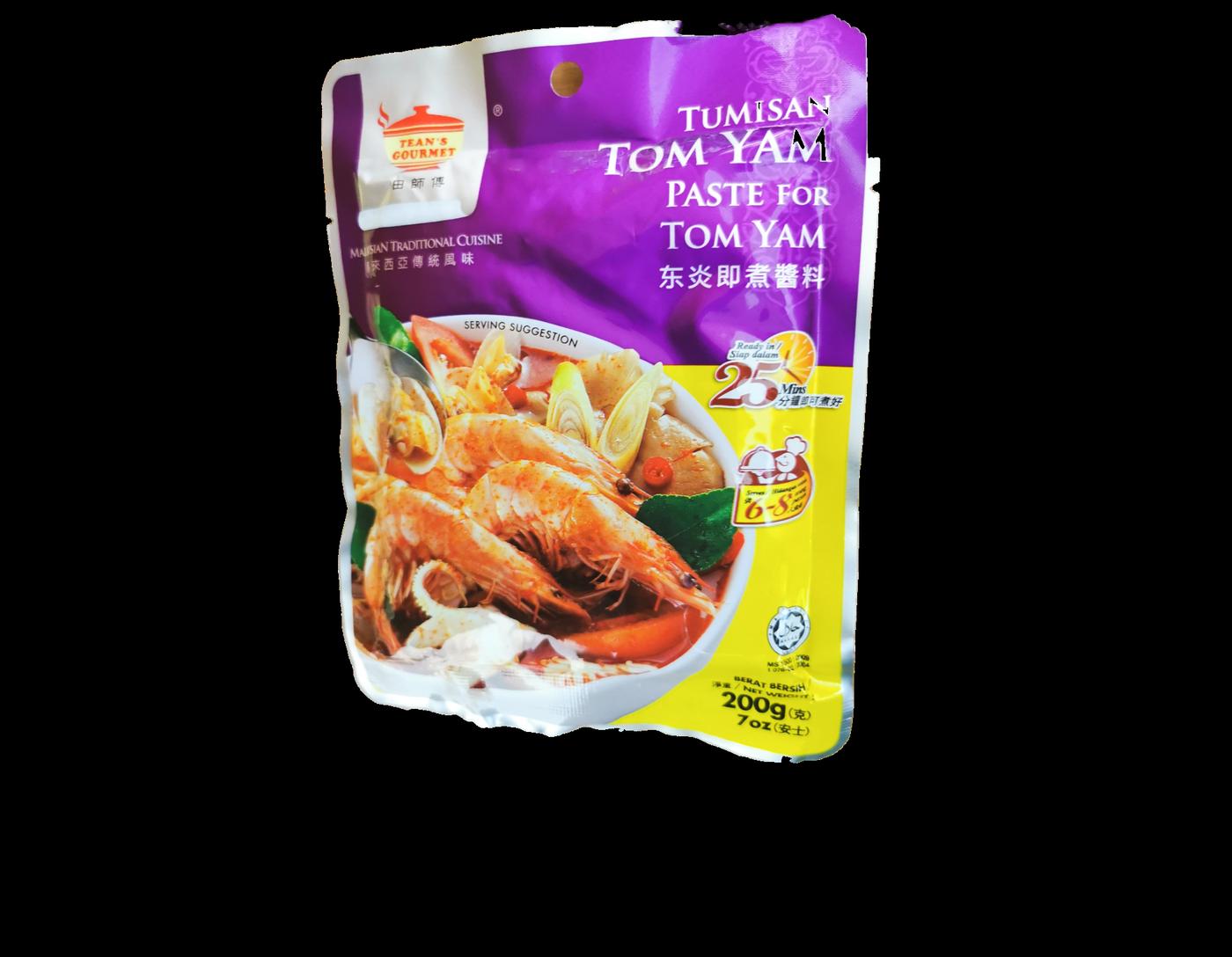 Teans Gourmet Tumisan Tom Yam (Paste for Tom Yam)