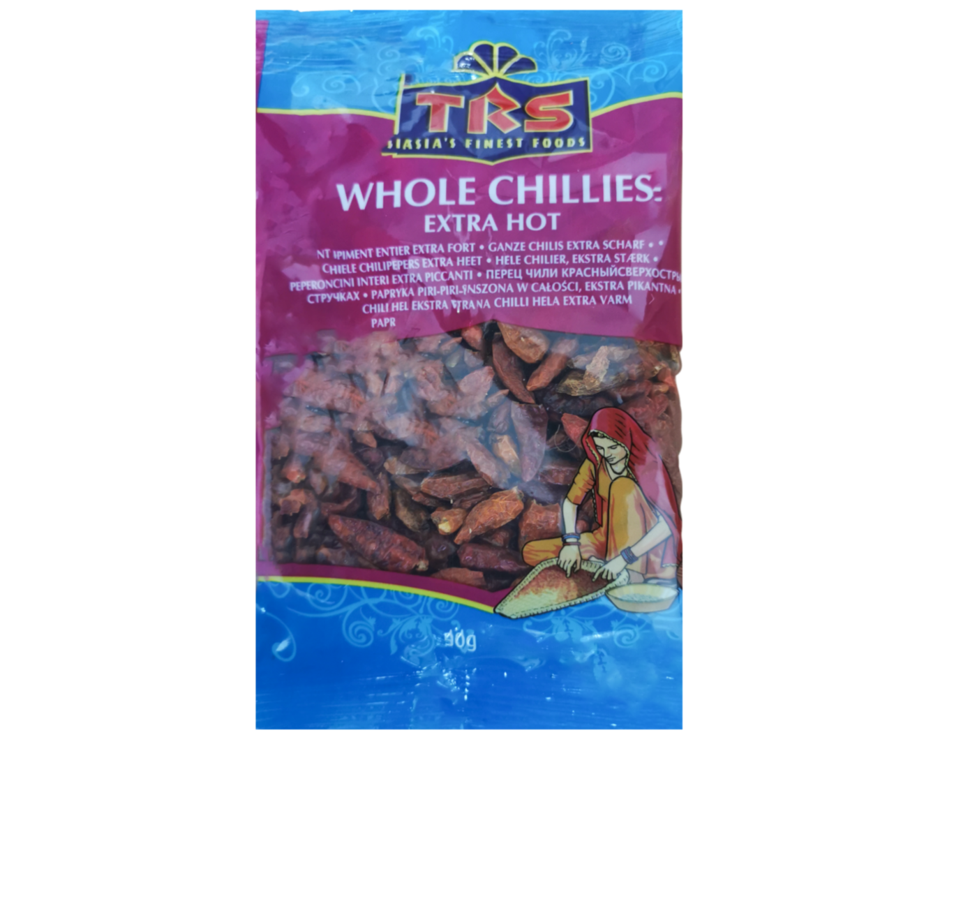 TRS Whole Chillies (Extra Hot)