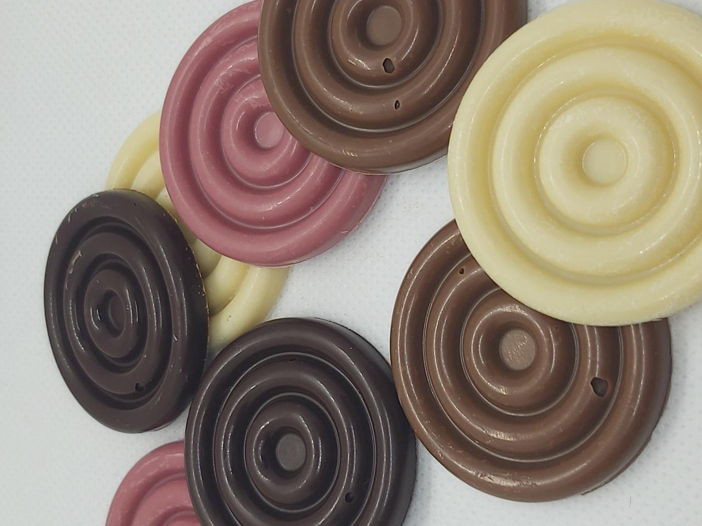 Chocolate Mini Swirls.