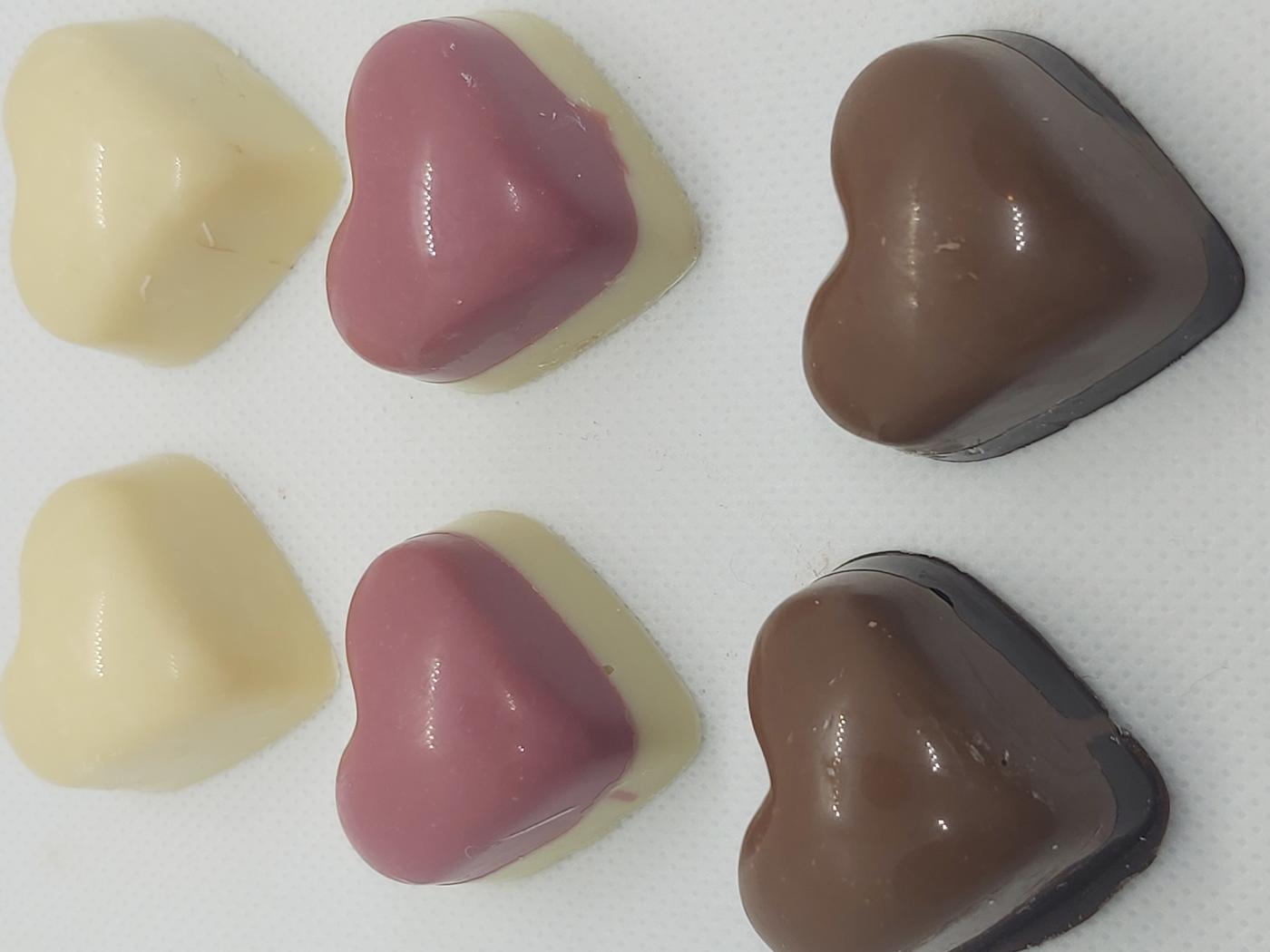 La Bella Chocolate Hearts