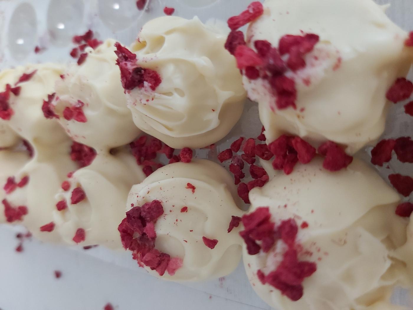 White Choc Raspberry Truffle