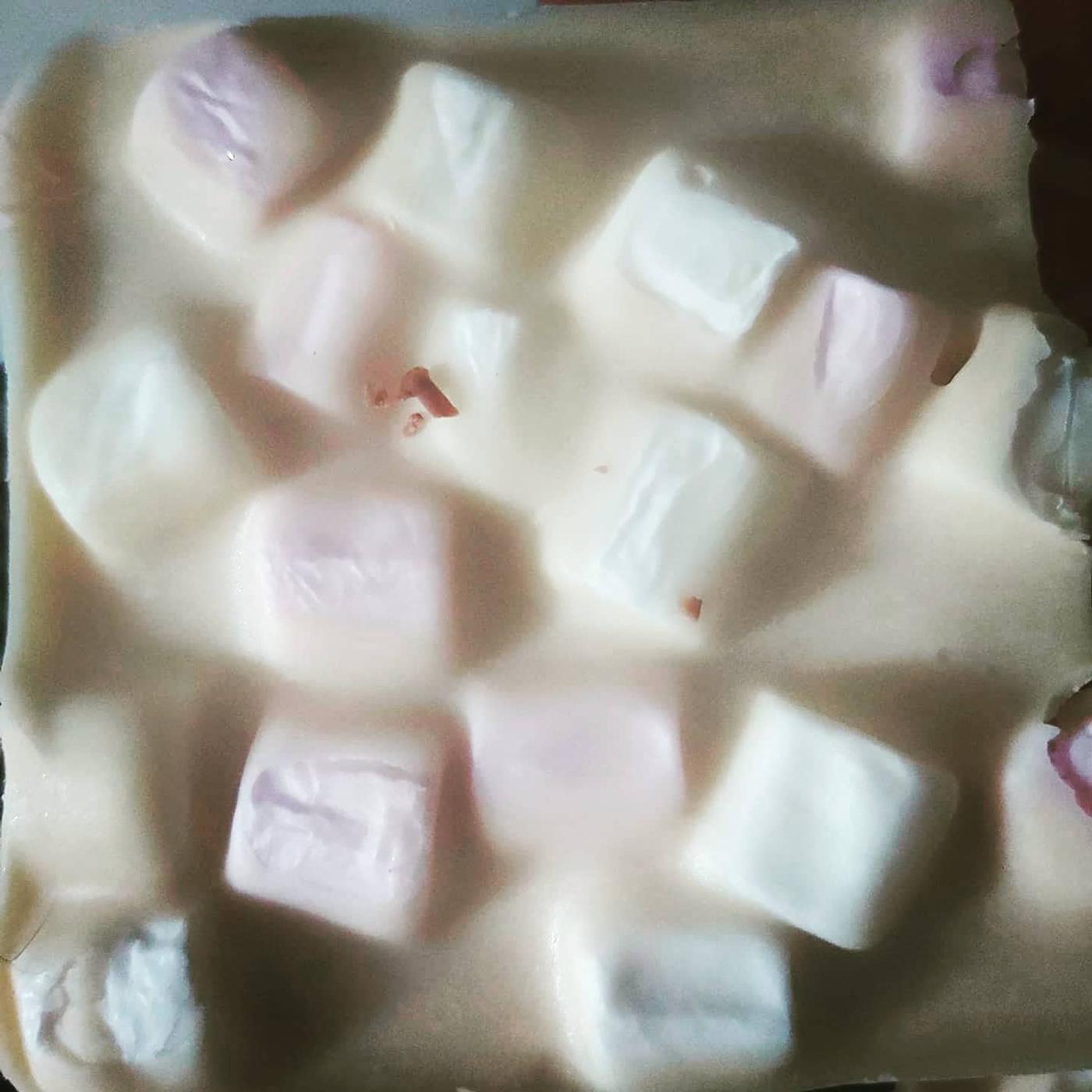 White Chocolate Marsmallow Slab Bar
