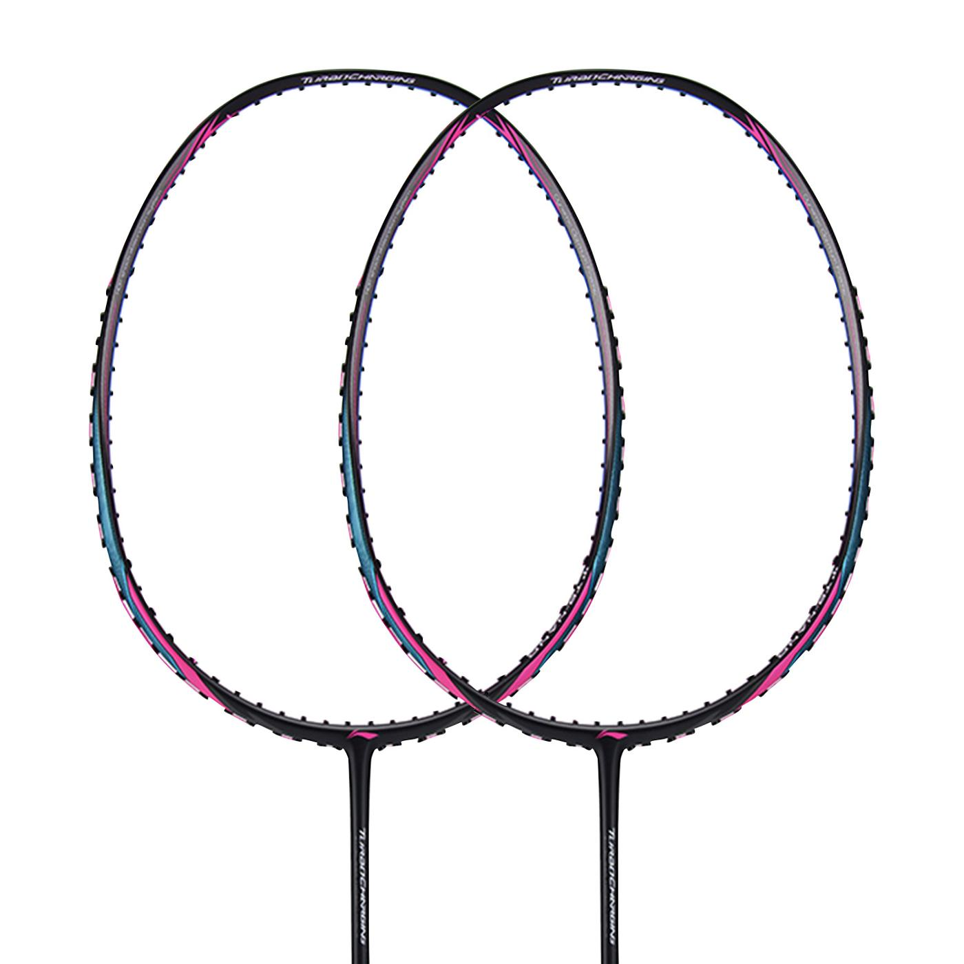 Li Ning Turbo Charging 75 Badminton Racket Black & Blue