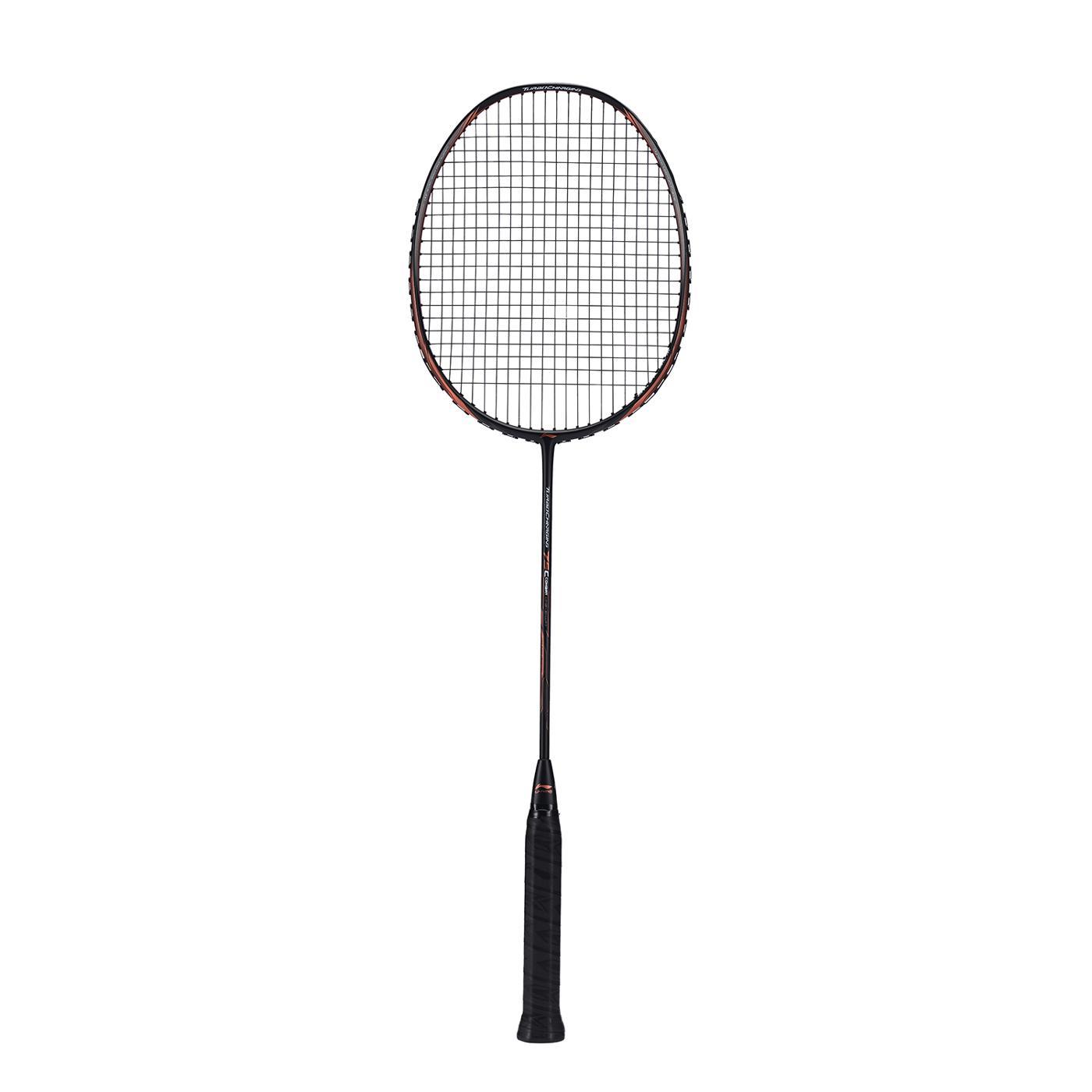 Li Ning Turbo Charging 75 Combat Badminton Racket Black & Red