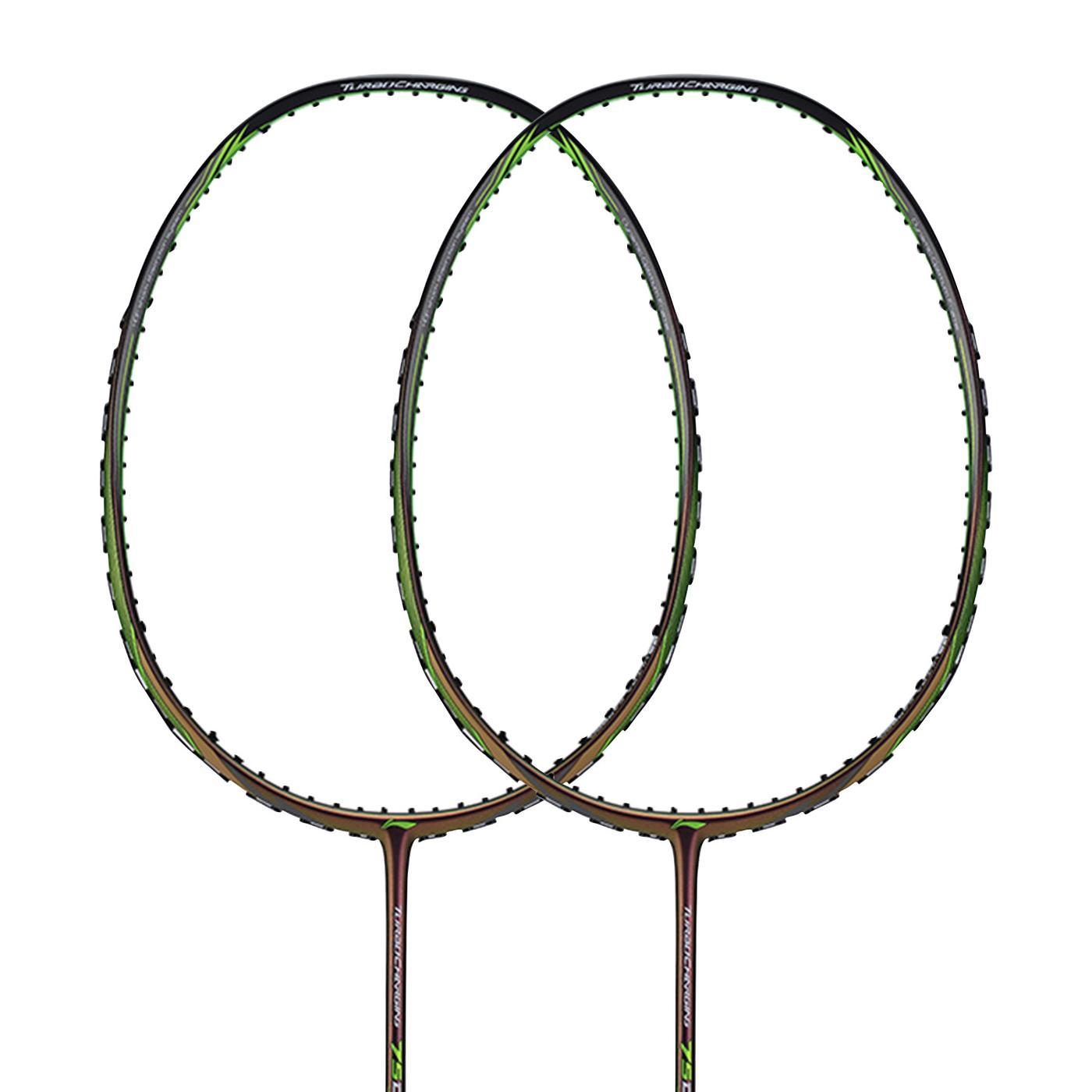Li Ning Turbo Charging 75 Drive Badminton Racket  - Green