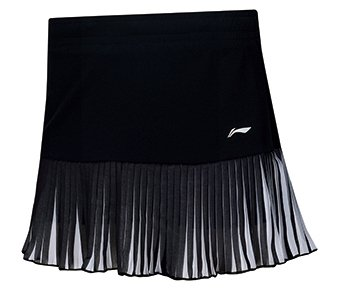 Li Ning Badminton Skorts Ladies Black