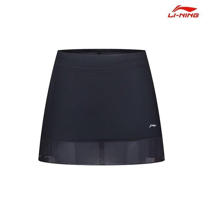 Li Ning Badminton Skorts Ladies Classic Black