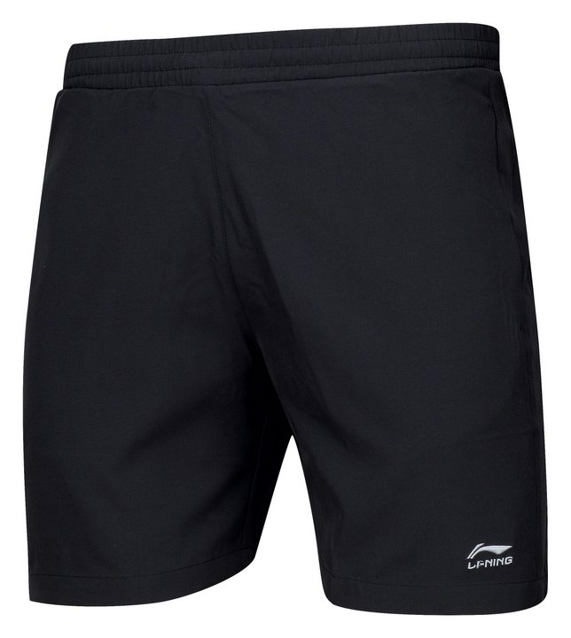 Li Ning Badminton Woven Shorts Men-s Black