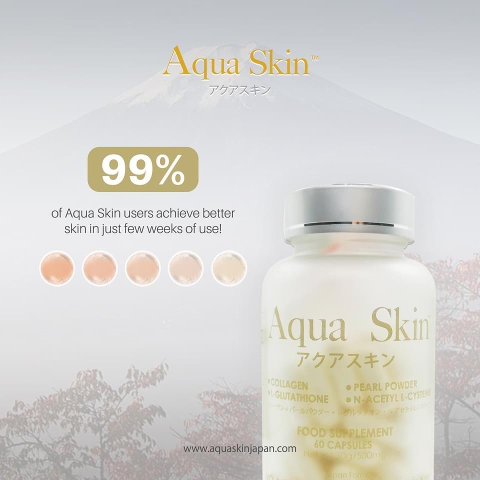 Aqua Skin Glutathione and Collagen Capsules