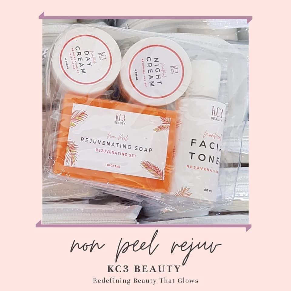 KC3 Beauty Rejuvenating Non-peel Set