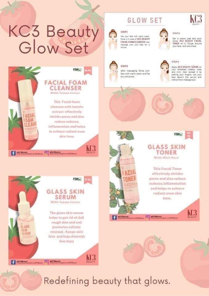 KC3 Beauty Rejuvenating Glow Set