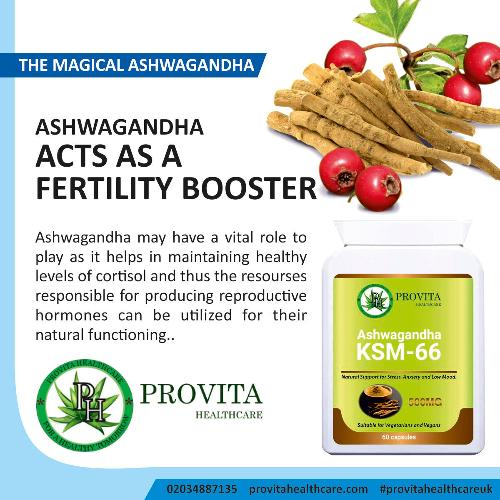 The Magical Ashwagandha - health benefits and effects Ashwagandha has many health benefits and may reduces stress and anxiety, helps to keep you fit, helps improve reproductive health, may enhance weight training and may allow for optimum performance of the nervous system.