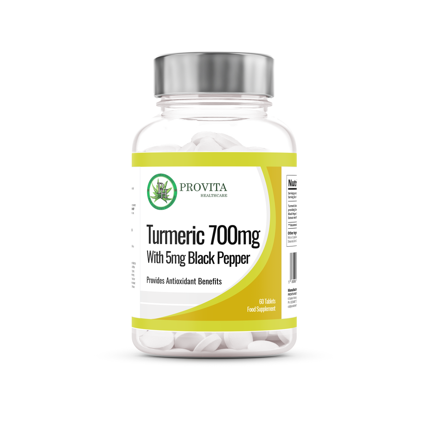 Turmeric 700mg with Black Pepper
