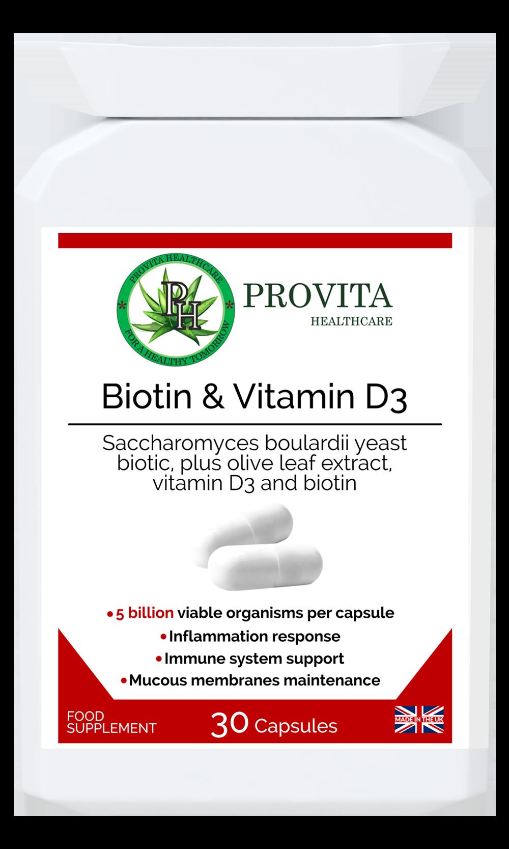 Biotin & Vitamin D3