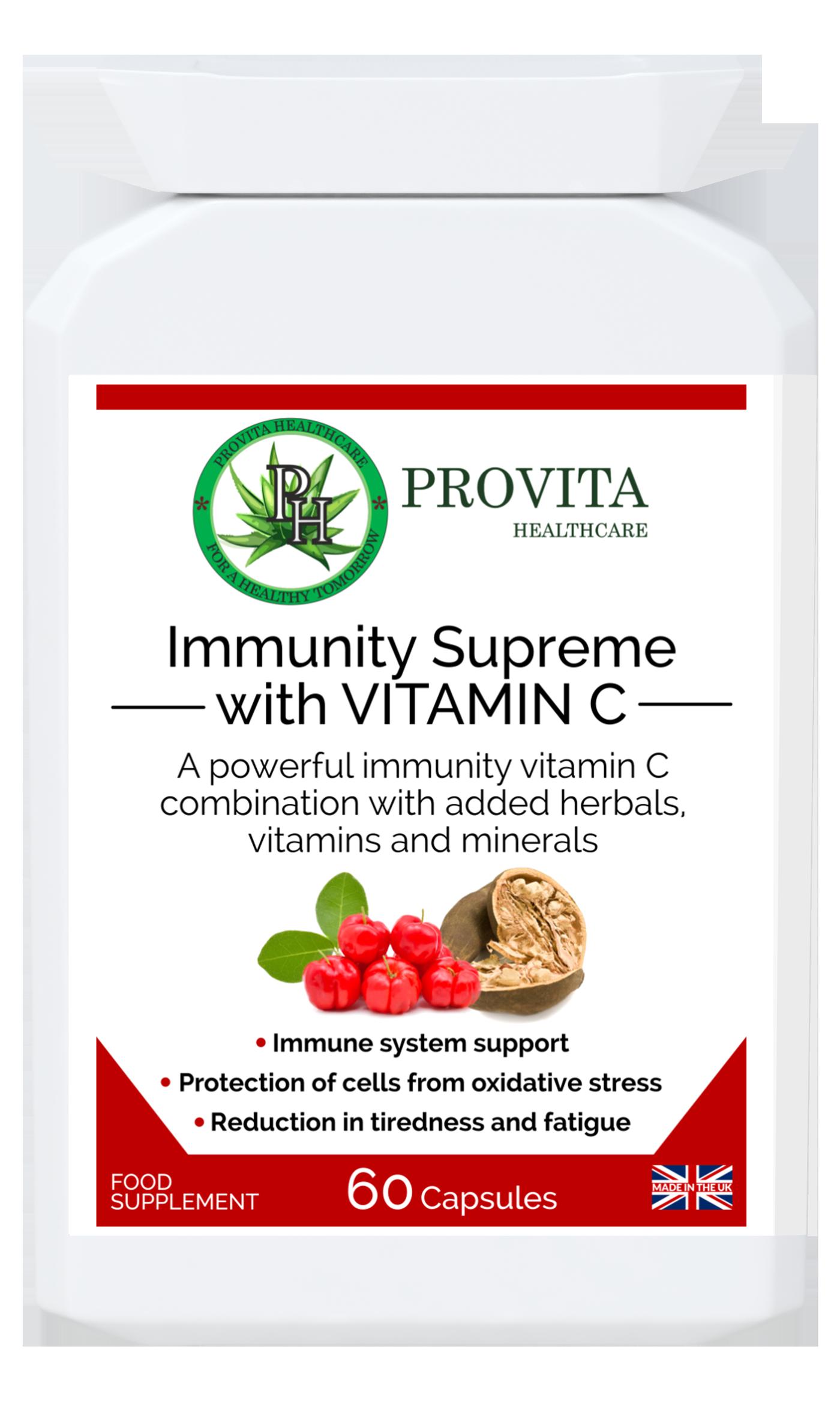 Immunity Supreme with VITAMIN  C