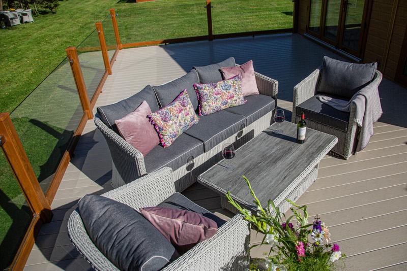Henley 3 seat lounge set