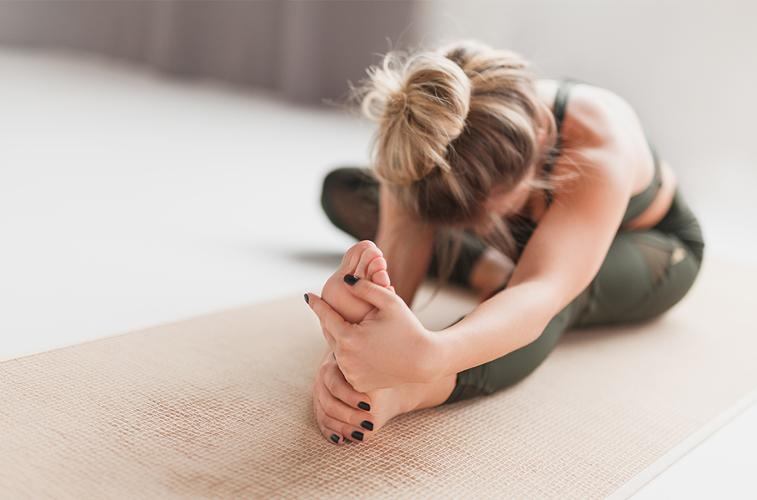 Yin Yoga A calming yogic practice designed around deep tendon stretches, joint strengthening and breathing practices, which mainly stays on the mat