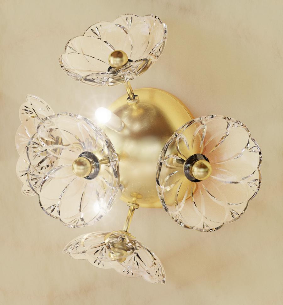 FLOWER 6-2-II mat