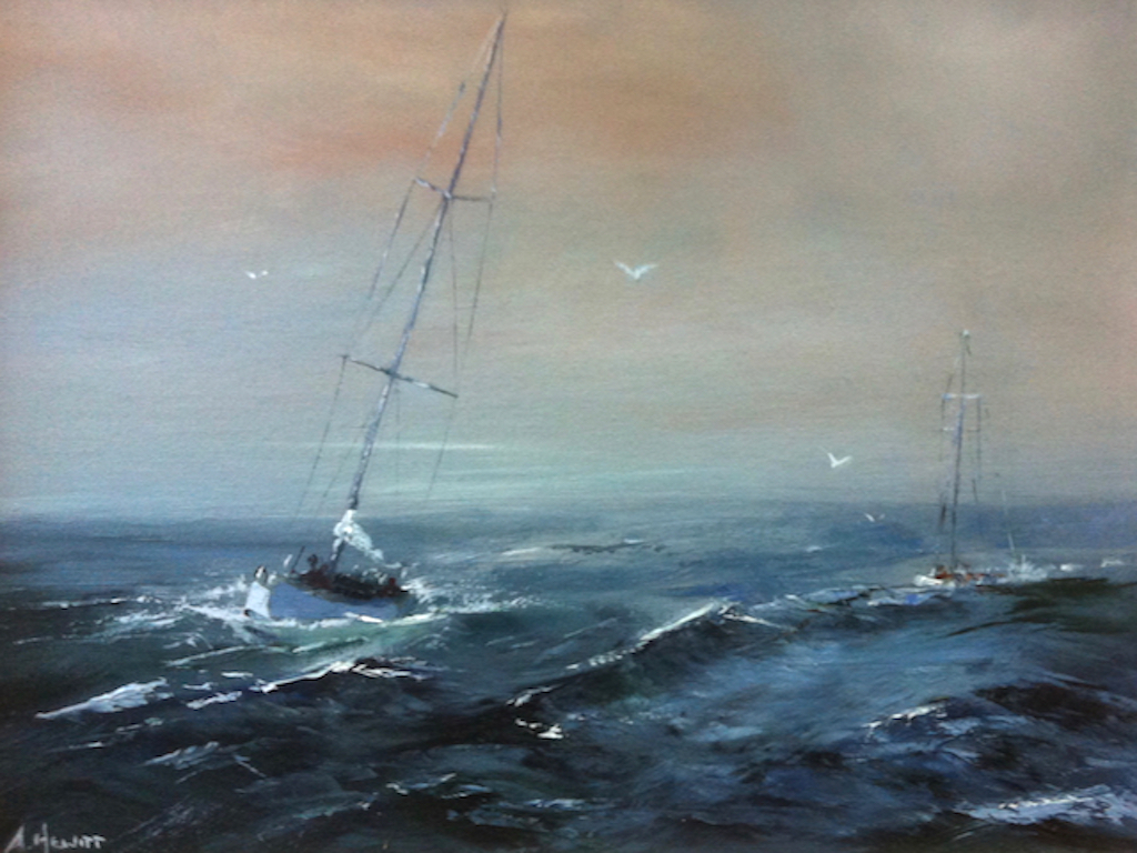 SWELLING SEAS (Print)