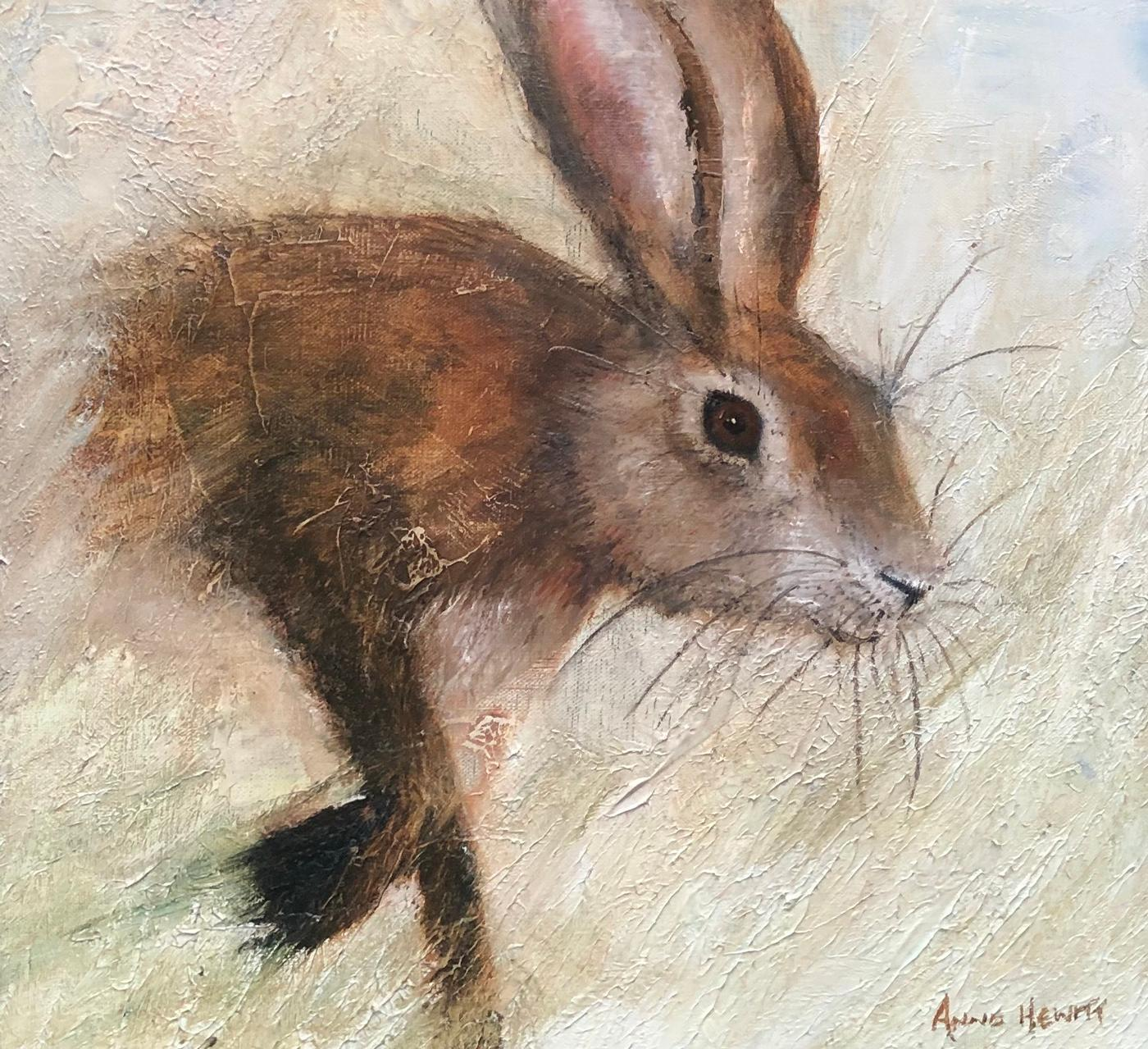 THE RUGGED HARE (Print)
