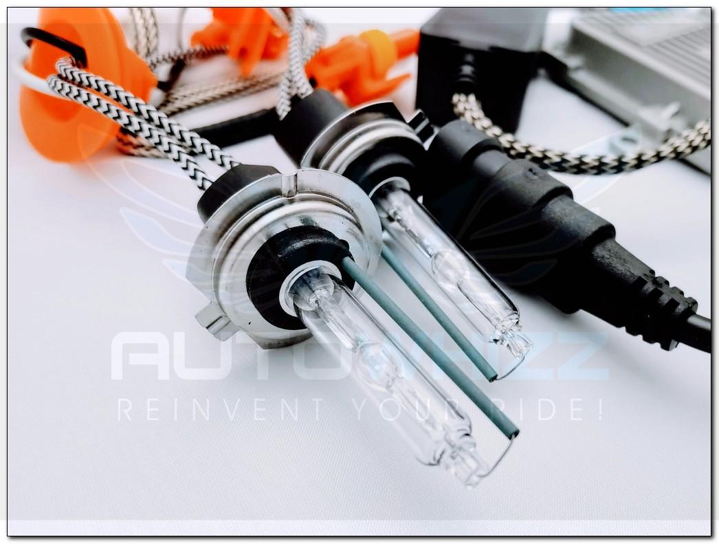 H7 35w Replacement Metal Base HID Xenon Bulb Set (2 bulbs)
