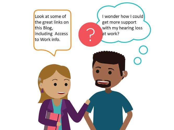 Di's Story: Being deaf aware at work Di wears hearing aids and describes her struggles with being discriminated at work due to her hearing loss. She wishes she had known then what she knows now. We all need to raise deaf awareness in the work place.
