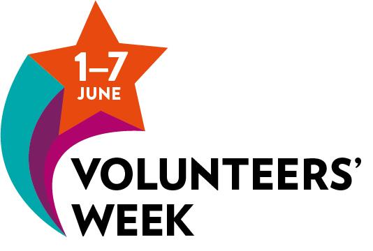 Thanks to our amazing volunteers! National Volunteers Week 1-7 June