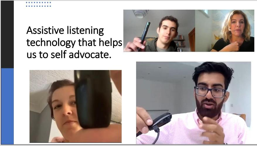 Speak Out: Being a self advocate A part of living well with a hearing loss means being able to confidently advocate for your communication needs and your rights to access information. These skills allow you to integrate fully into your social, work and educational environment. Are there resources that can help build these skiils? Listen to the stories of self advocacy from our young adults and enjoy the list of resources to help .