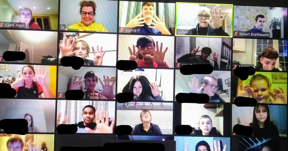 Friday night with the Teens! Online social for deaf teens to have fun and build confidence