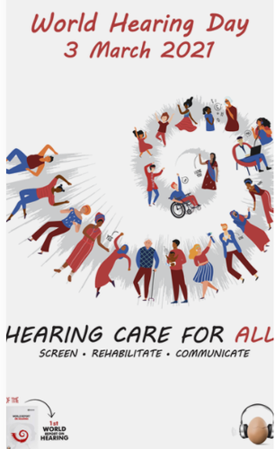 World Hearing Day 2021 World Hearing Day launches the first ever World Hearing Report!