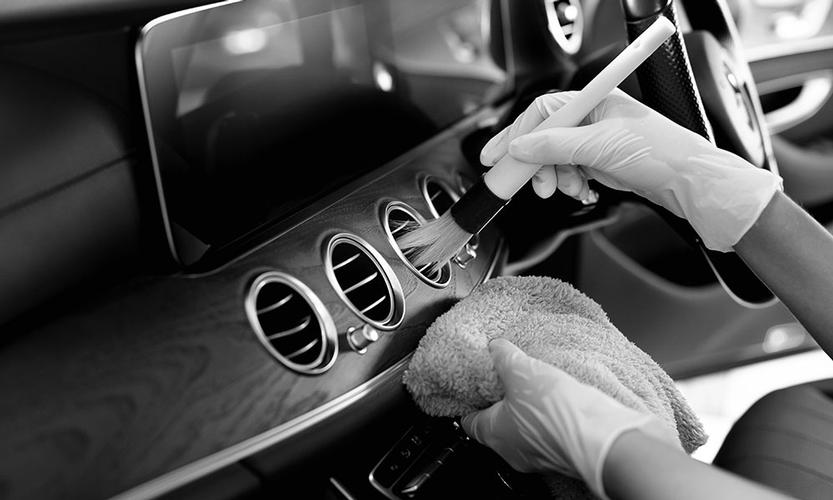 Interior Detail This service is for you, if you are wanting only your interior deep cleaned and polished due to heavy pet hair, heavy spills and stains.