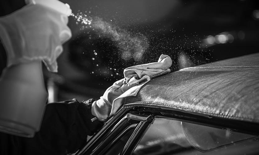 Soft top clean and protection This service is for you, if you own a convertible and the soft top is dull and requires restoring and a protection to look immaculate.