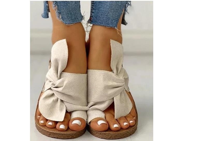 Womens Beige Sandals