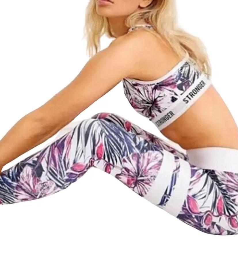 Womens 2 piece yoga gym set