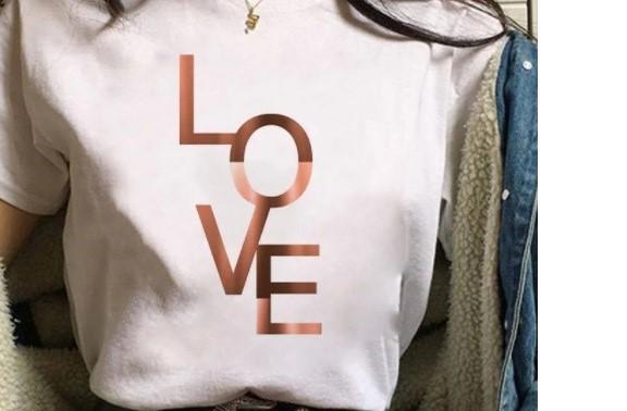 Womens LOVE logo T shirt