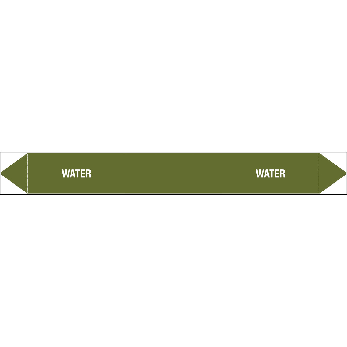 Water - Individual Peel Off Markers
