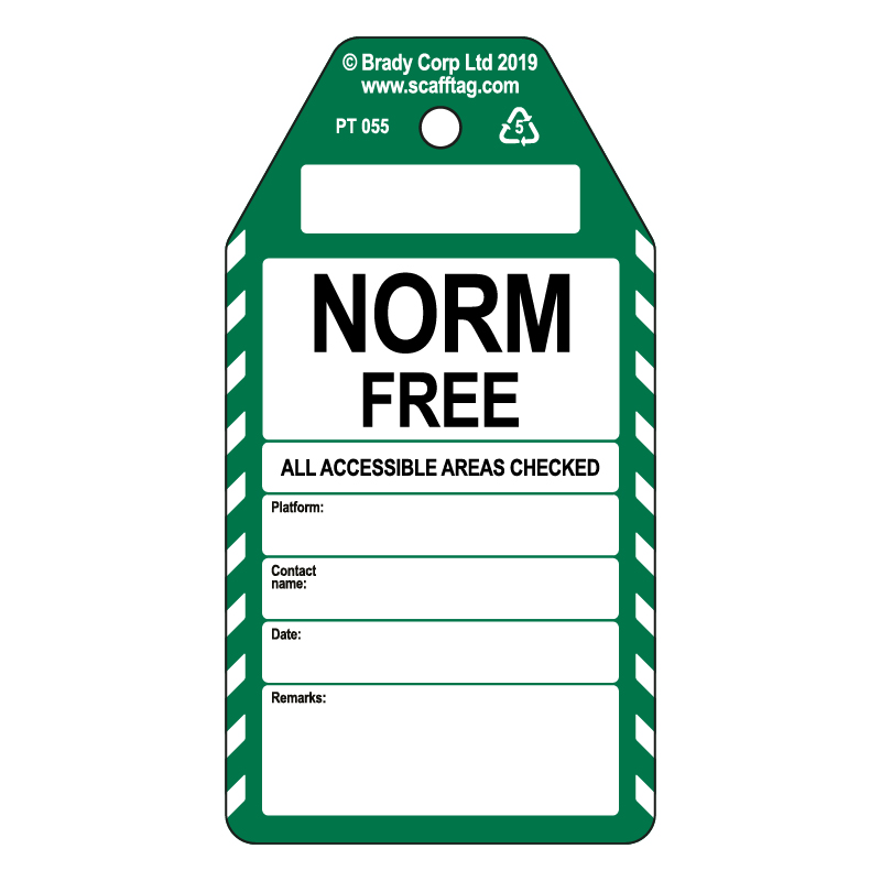 50 x Norm Free Tags