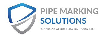 Site Safe Solutions workplace identification specialists BS1710 Pipe Markers workplace identification specialists