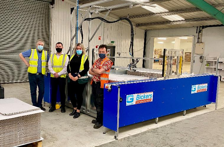 We oversee the installation of the Bickers GLUEJET® XY Glue Plotter – a world leader in its field, underpinned by 40 years of research and installed over 65 machines in the UK alone, with over 350 installations in over 50 countries worldwide. Check below to hear our installation stories.
