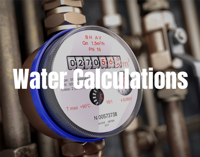 Water Calculations
