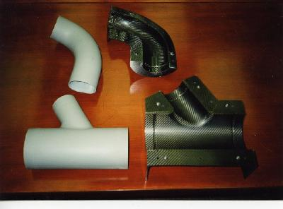 REUSEABLE SILICONE RUBBER  INTENSIFIERS VACFORM COMPOSITES