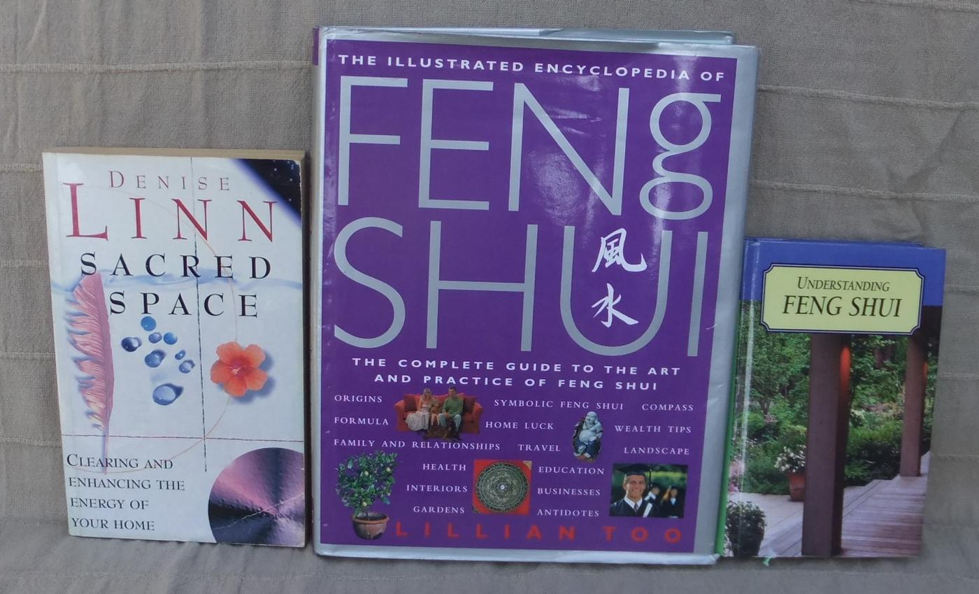 Feng Shui, Space Clearing Books