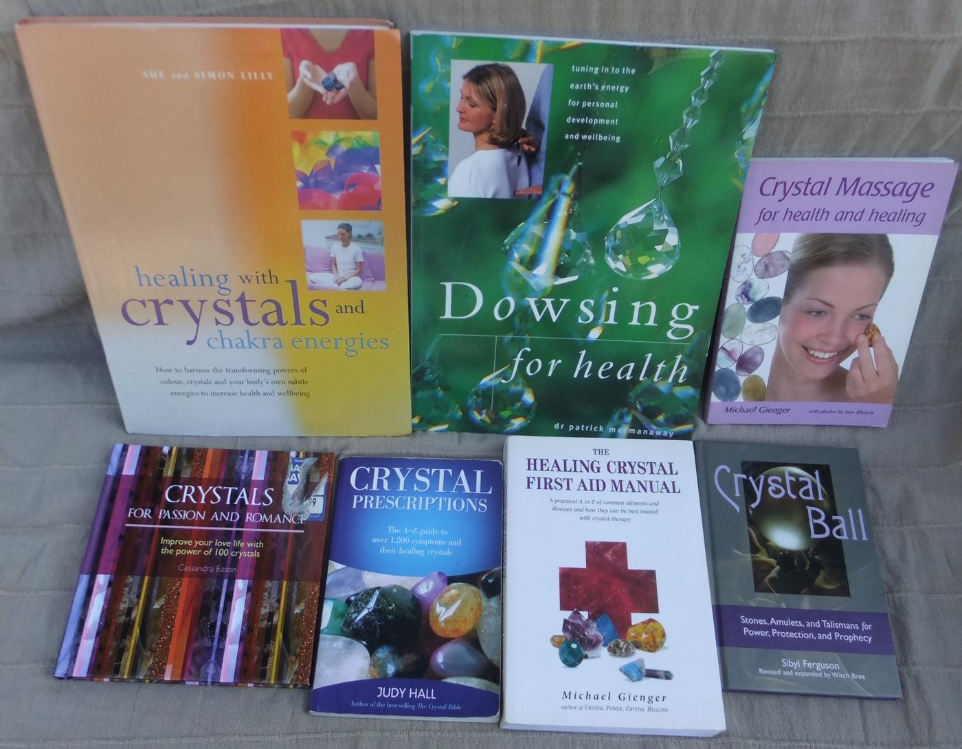 Crystal for Therapies Books