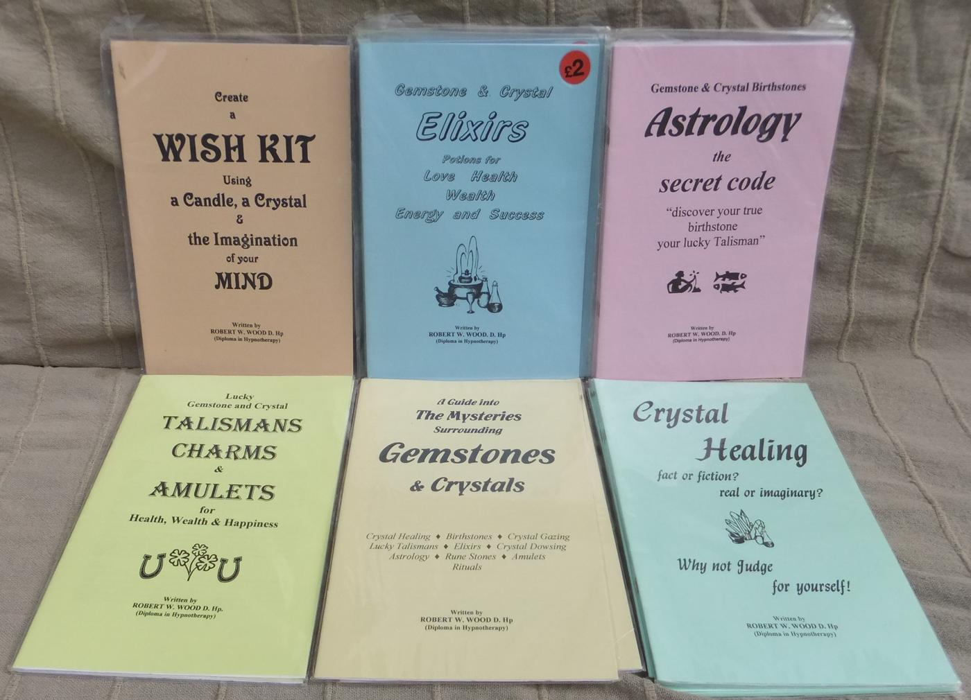 Gemstone and Crystal Booklets by Robert W. Wood