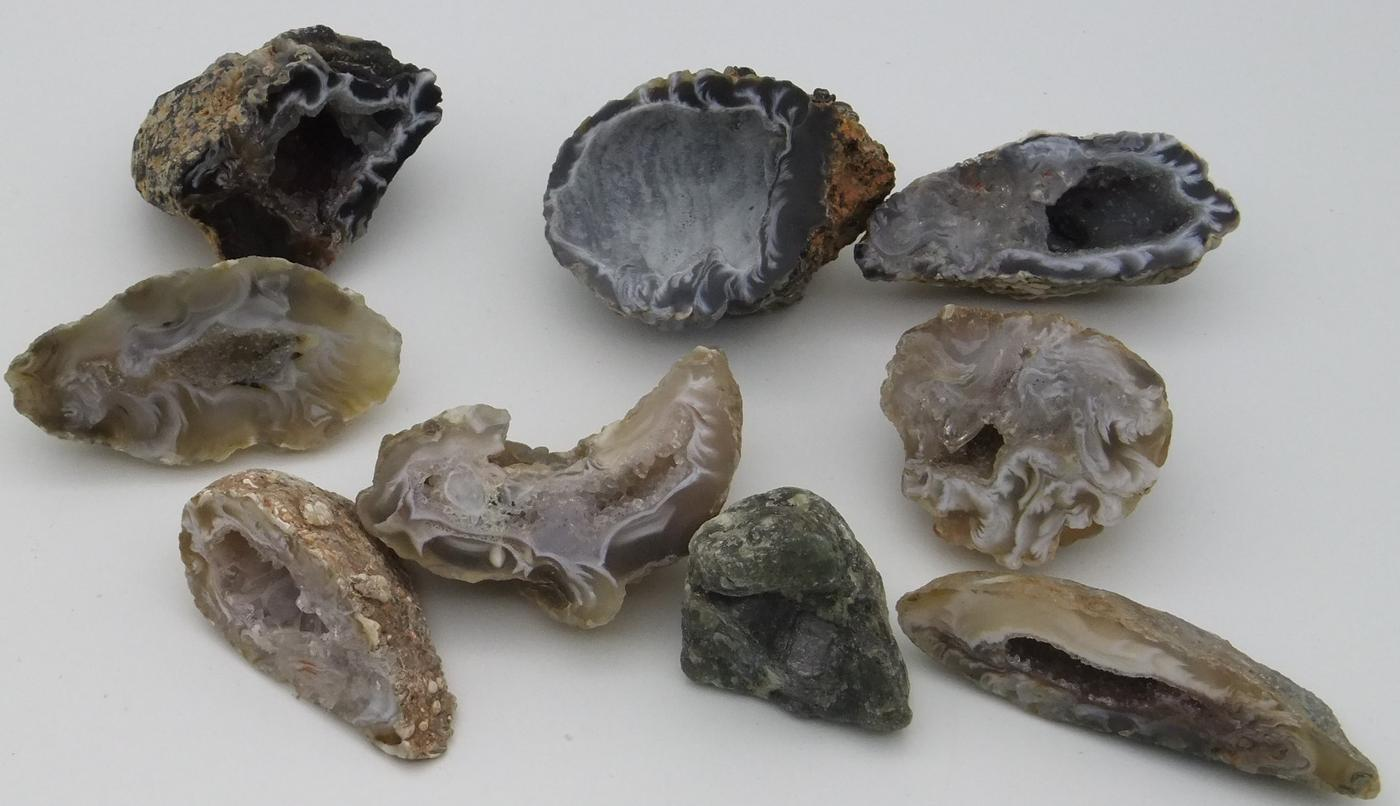 Natural Agate Geodes - 3