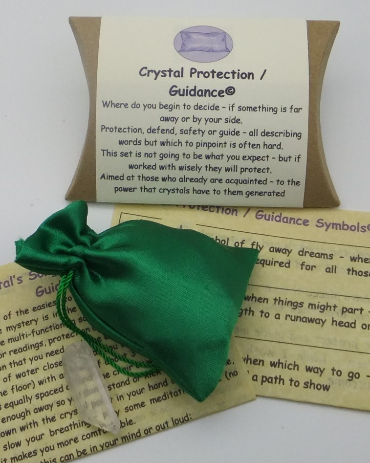 Crystal Protection / Guidance from The Pillow Box Crystal Co.
